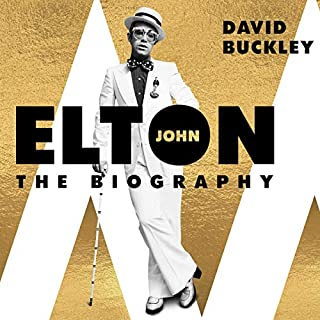 Elton John audiobook cover art