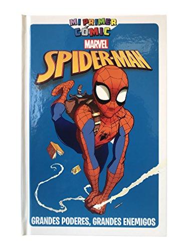 Spiderman. Grandes poderes, grandes enemigos. Mi primer cómic