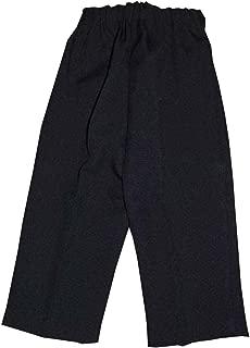 Lito Boy's Long Pleated Pants Size 6-12 Months Black