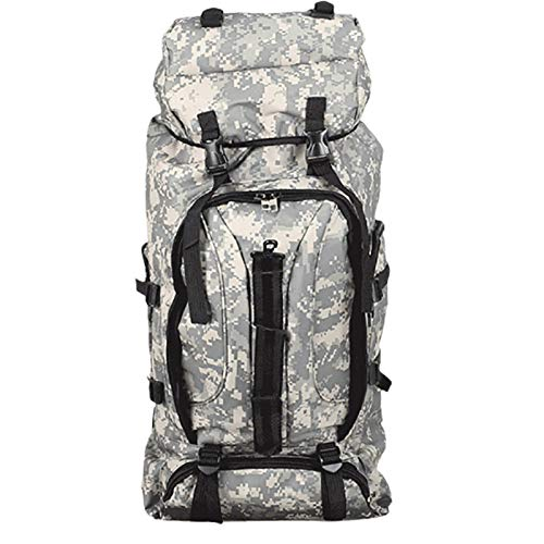 75LTactical Backpack Outdoor Large Capacity Tactical Backpack Backpack Mountaineering Bag Travel Waterproof Backpack A