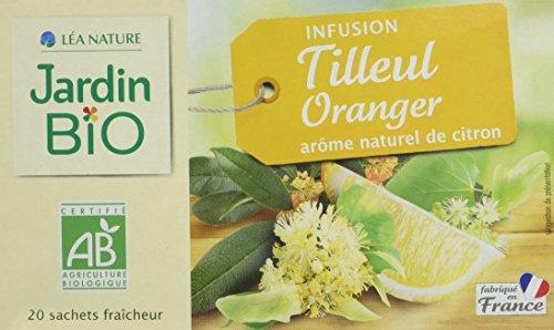 Jardin BiO étic Infusion Tilleul Oranger Mélisse