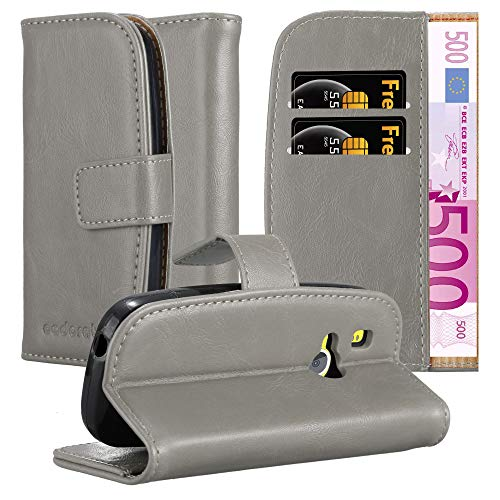 Cadorabo Hülle für Nokia 3310 in Cappuccino BRAUN – Handyhülle mit Magnetverschluss, Standfunktion & Kartenfach – Hülle Cover Schutzhülle Etui Tasche Book Klapp Style