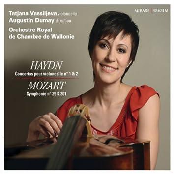 Haydn: Concertos pour violoncelle No. 1 & 2 - Mozart:  Symphonie No. 29 K.201