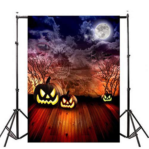 Gaddrt 3D Fotografie-Hintergrund Hintergründe für Fotostudios Halloween Hintergründe Laterne Hintergrund Fotografie Studio Dekoration