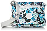Kipling Sabian - Mini bolso cruzado para mujer, diseño floral, talla única
