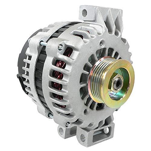 DB Electrical ADR0371 New Alternator Compatible with/Replacement for Buick Chevy Gmc Isuzu Saab, 4.2L 4.2 Acender 9-7X Trailblazer Envoy Ranier 06 2006 15200110 8152001100 400-12229 8497N 15-20-0110
