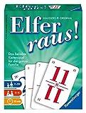 Ravensburger Elfer raus, Kartenspiel und Gesellschaftsspiel, Familienspiel für 2 - 6 Spieler, Spiel...