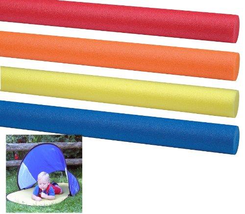Comfy 4 STK Original Schwimmnudel Poolnudel 160 cm + Kinder Badematte gratis