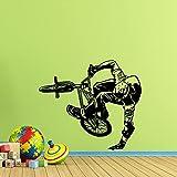 Boezhl Fahrrad Wandtattoo Zeichen Fahrrad Geschenk Gym