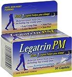 Legatrin Advanced Formula PM Caplets, 50-Count Bottles...