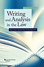 Writing and Analysis in the Law (Coursebook) PDF