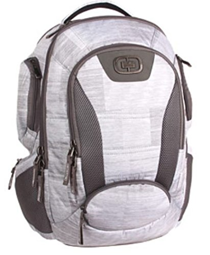 OGIO Bandit (28 Litre) Versatile Backpack with HUB Comfort and Ultra-Protective Laptop Compartment, Blizzard, 48 cm - 28 Litre