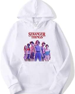 Stranger things Hooded Hoodies stranger things Sweatshirts women girl unisex Long Sleeve Tops