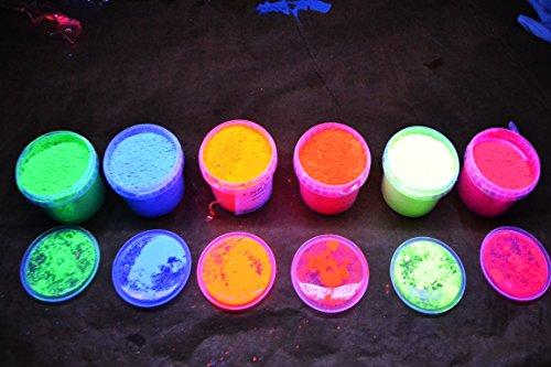 50G di alta qualità polyment fluorescenti luce pigmenti pigmenti pigmenti tagesleucht fluorescenti rosso, giallo, blu, arancione, rosa, verde