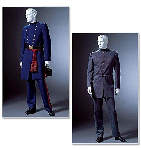 4745 McCalls Schnittmuster Herren historische viktorianische Kostüme, Größen XL, XXL, XXXL