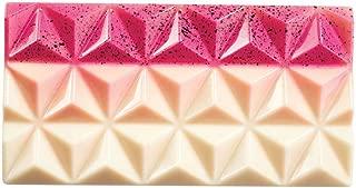Martellato MA2009 3 Piece Polycarbonate Bar Pyramids Mould, 138 x 72 x 11 mm, Transparent