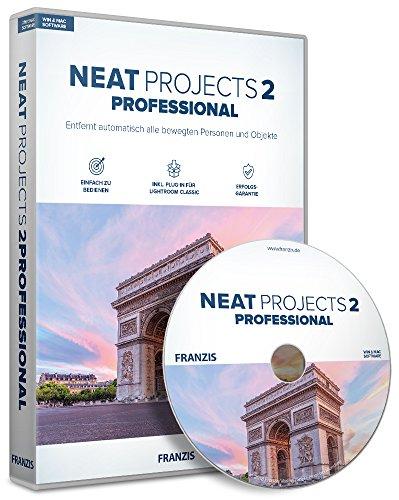 FRANZIS NEAT projects 2 professional |Fotos ohne störende Personen im Bild | für Windows PC und Mac |CD-ROM