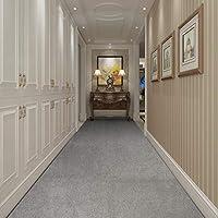 ラグ カーペット すべり止めカーペットの床ランナーエントランスバリアマットマシンウォッシャブルラグ屋内/屋外のカーペットランナー、任意の長さ、2色 (Color : A, Size : 0.8x4m)