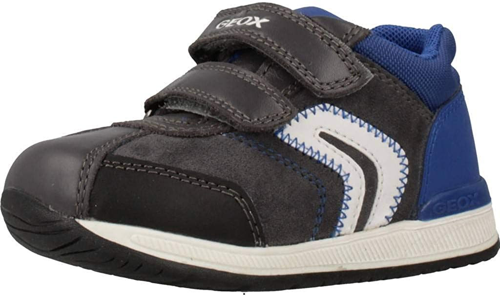 Geox Shoes Baby Boys Oakland Mall B Superior Rishon Nappa Navy Size Suede Anthricite