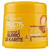 Garnier Fructis Oil Repair 3 Maschera per Capelli Molto Secchi, 300 ml