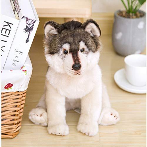 CHAOZHENG Cute Wolf Plush Toy Wolf Dog Child Doll