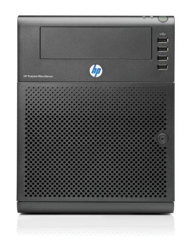 HP ProLiant MicroServer G7 - Servidor (AMD Turion II Neo 2.2 GHz, 2 GB DDR3, 250 GB de disco duro, gráfica integrada), Negro