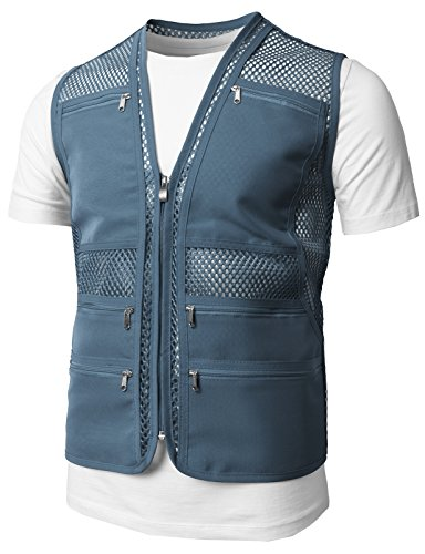 H2H Mens Casual Work Utility Hunting Travels...