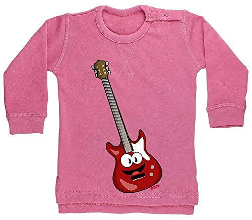 Hariz - Suéter para bebé, guitarra eléctrica, divertido, tarjetas de regalo, algodón...
