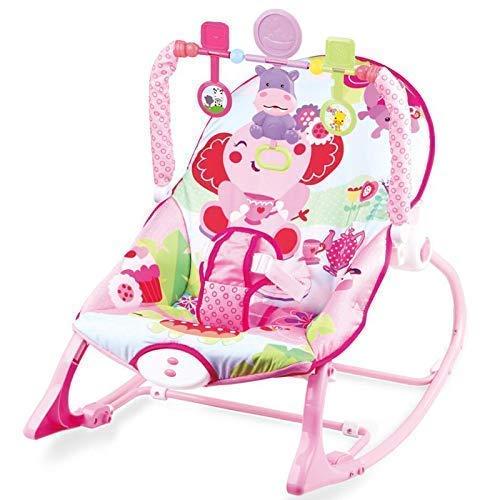 Babywippe mit Musik und Vibrationen Dominiti 39391, verstellbare Babyschaukel, Spielzeug Schaukelwippe Schaukelsitz Babywiege...