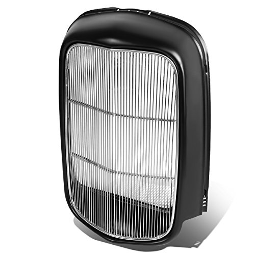 Heavy Duty Radiator Grill Shell with Stainless Steel Grille Insert Compatible with 1932 Ford Truck...