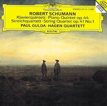 Schumann: Piano Quintet / String Quartet No.1