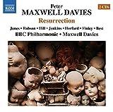 Maxwell Davies: Resurrection [Sir Peter Maxwell Davies] [Naxos: 8.660359-60] By Della Jones ,Christopher Robson ,Martn Hill (2014-07-28)