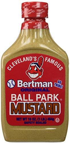 Bertman Original Ball Park Mustard, 16 oz