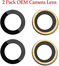 Afeax Compatible OEM Original Back Rear Camera Lens Glass Replacement Part for iPhone 7 and iPhone 8 (4.7 inch) with Adhesive Glue