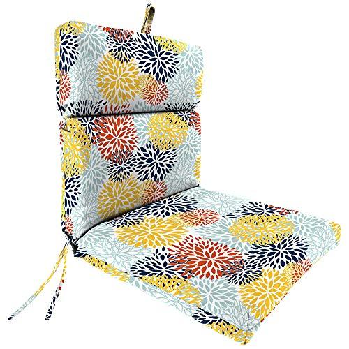 Jordan Blooms Perla French Edge Outdoor Chair Cushion