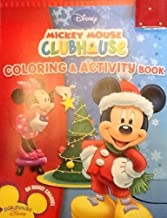 Holiday Christmas Disney Mickey Mouse Clubhouse Coloring & Activity Book! 32 Pages!!!