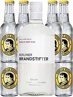 Berliner Brandstifter Dry Gin Deutschland 0,7 Liter  6 Thomas Henry Tonic 0,2 Liter