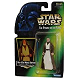 1997 Hasbro Ben (Obi-Wan) Kenobi with Lightsaber and Removable Cloak Green Ho...