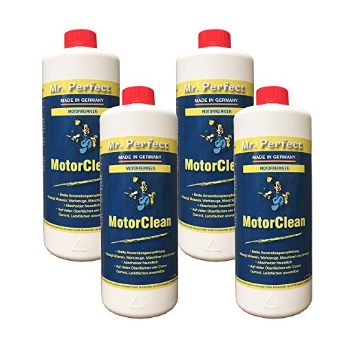 Mr. Perfect® Moteur Clean - Nettoyant pour le moteurs & parties de moteur - 4 x 1L