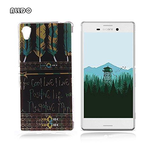 AllDo - Cover morbida e flessibile, in silicone TPU, motivo originale, ultra sottile, leggera, anti-graffio, con piume azteche