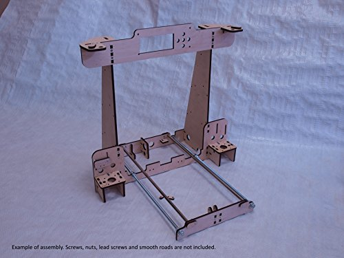 Anet A8/Hesine M505/Tronxy 3D Printer clone Frame 6mm PlyWd similar to Prusa i3