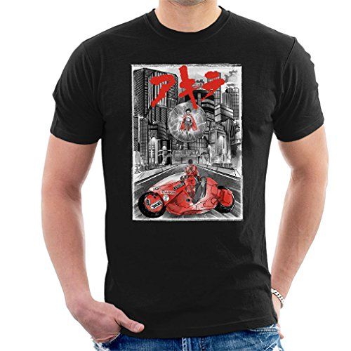 Akira Welcome To Neo Tokyo Citycscape Men's T-Shirt