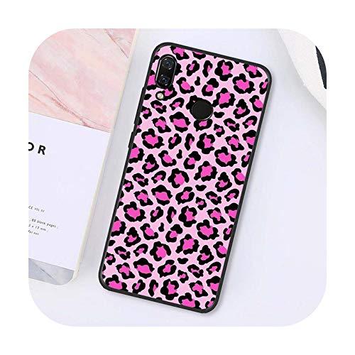 Phone cover Moda Sexy Leopard Print Design teléfono caso para Xiaomi para Redmi4X 6A 9 8A Note 9 Pro 5Plus Note4 Note5 7 Note6Pro 8T-A15-Para Redmi Note9 Pro