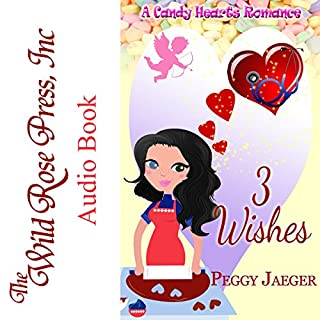 3 Wishes - A Candy Hearts Romance audiobook cover art