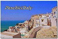 BEI YU MAN.co ペスキチプーリアイタリア大人のためのジグソーパズル子供1000ピース木製パズルゲームギフト用家の装飾特別な旅行のお土産