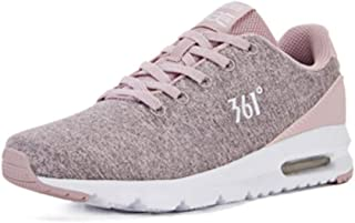 HXSD Casual Fashion Sneakers, Leather Warm Running Shoes, Lightweight and Comfortable Travel Casual Shoes, Pink, Black (Color : Pink, Size : 37EU)