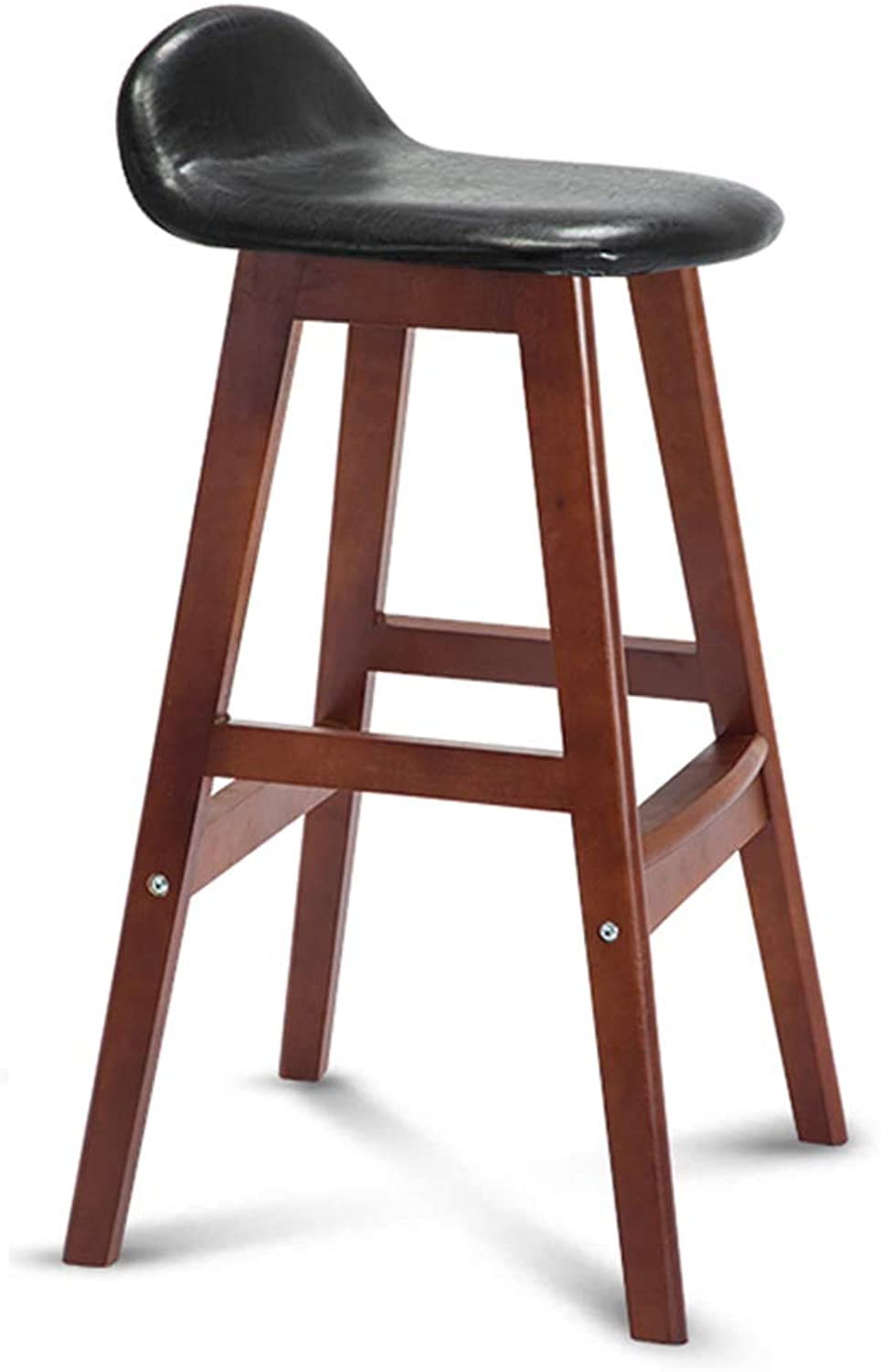 Bar Pub High Stools Dining Chairs Bar Chairs Counter Stool with Backrest Bar Stools Chairs Set High Stool Leisure Simple Nordic for Cafe