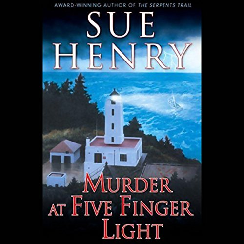 Murder at Five Finger Light audiobook cover art