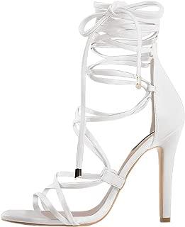 Best white gladiator heels Reviews