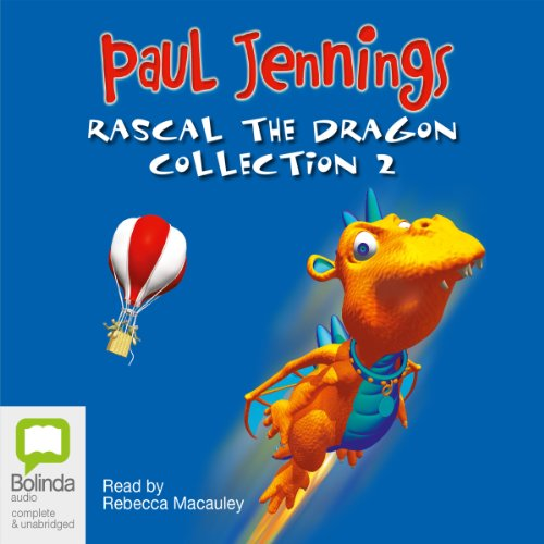 Rascal the Dragon audiobook cover art